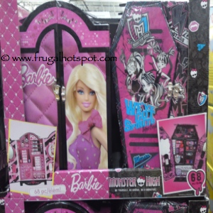 Barbie or Monster High Makeup Case Costco