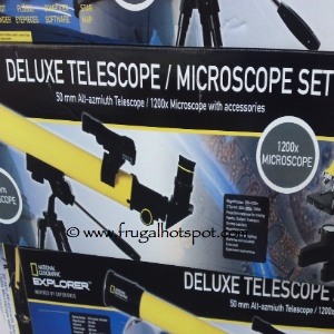 National Geographic Telescope & Microscope Set