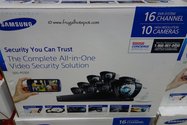 Samsung Complete All in One Security Surveillance System