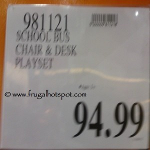 Kenyield School Bus Play Center, with Table & Chair Costco Price