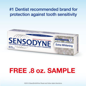 Sensodyne Free Sample