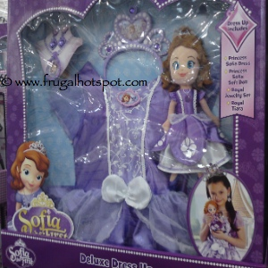 Disney Princess Sofia The First Doll & Deluxe Dress Up Costco
