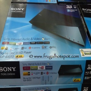 Sony Blu-ray DVD Player BDPBX510