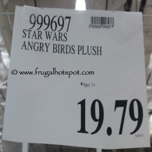 Star Wars Angry Birds Plush Costco Price