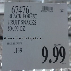 Black Forest Fruit Snacks Little Monsters Costco Price