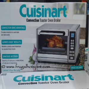 Countertop Oven Costco : Costco Deal: Cuisinart Countertop Convection Toaster Oven Broiler $79 ...