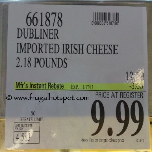Kerrygold Dubliner Cheese Costco Price