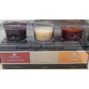 Essenza Home Fragrance Candle 3 Pack