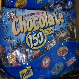 All Chocolate 150 Piece Fun Size Mix