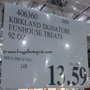 Kirkland Signature Funhouse Treats 90 ounce Costco Price