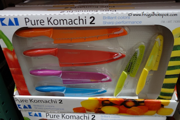 Kai Pure Komachi 2 6 Piece Knife Set