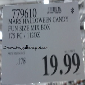 Halloween Candy Treats 175 Count Costco Price