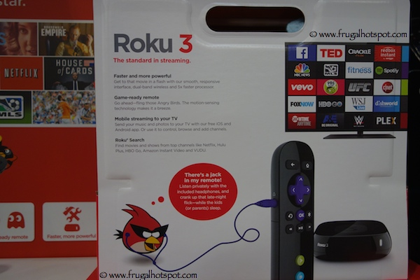 Costco Sale Roku 3 Streaming Player With Motion Remote