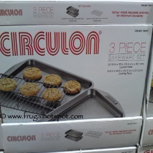 Circulon 3 Piece Bakeware Set