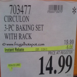 Circulon 3-Piece Baking Set Costco Price