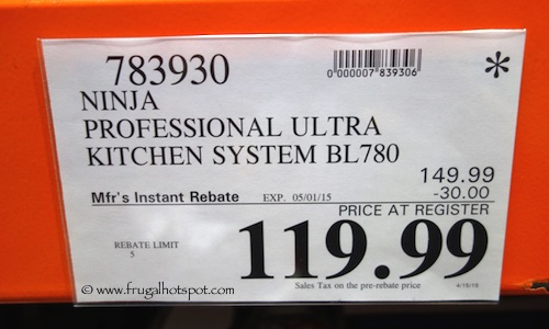 Ninja Ultra Kitchen System 1200 Costco Price