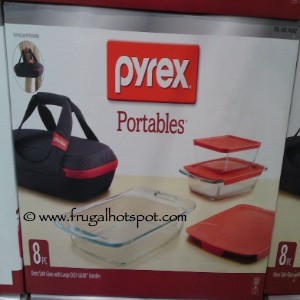 Pyrex 8 Piece Portables