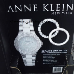 Anne Klein New York Ceramic Link Watch