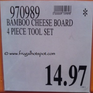 Bamboo Cheese Board With Tools Costco Price