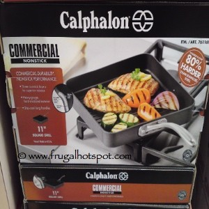 "Calphalon Commercial Nonstick 11"" Square Grill Pan"