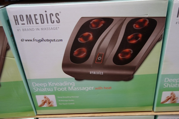Homedics Deep Kneading Shiatsu Foot  Massager with Heat Costco