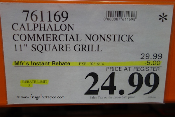 Calphalon Square Grill Costco Price