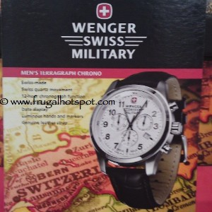 Wenger Swiss Military Men's Terragraph Chrono Watch