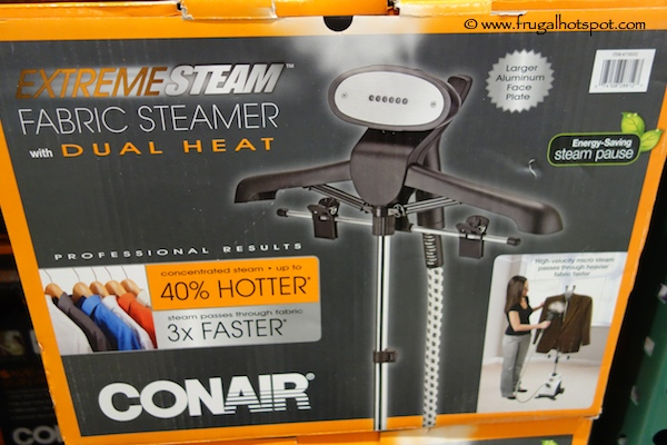 Conair ExtremeSteam Fabric Steamer with Dual Heat