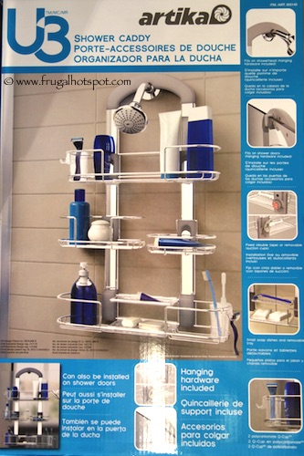 Advanced Habitat U3 Shower Caddy Costco