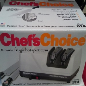 Chef's Choice Diamond Hone Electric Knife Sharpener Model 314