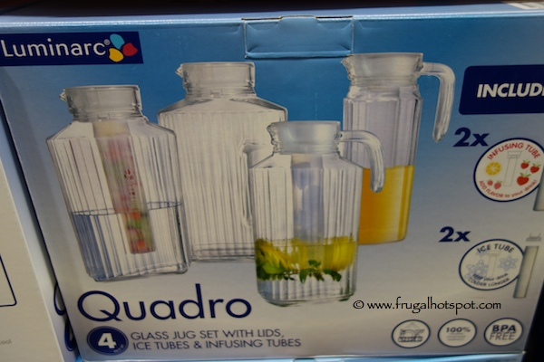 Luminarc Quadro Glass Jug Set