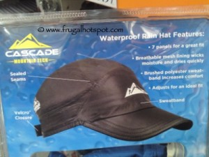 Cascade Mountain Tech Waterproof Rain Hat