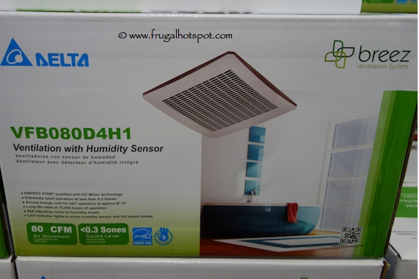 Delta Breez Bath Ventilation System Fan