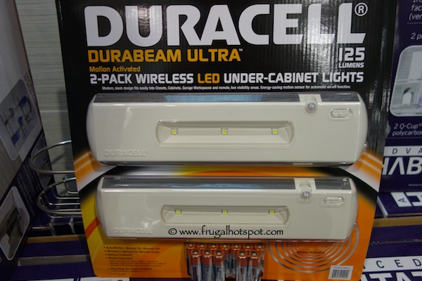 Duracell Durabeam Ultra 2 Pack Under Cabinet Led Lights