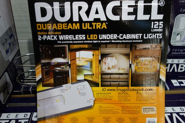 Duracell Durabeam Ultra 2-Pack Under Cabinet LED Lights