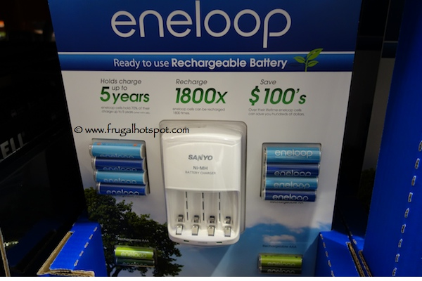 Eneloop Charger / Rechargeable Battery Combo Pack