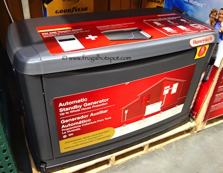 Honeywell by Generac 17KW Standby Generator Costco