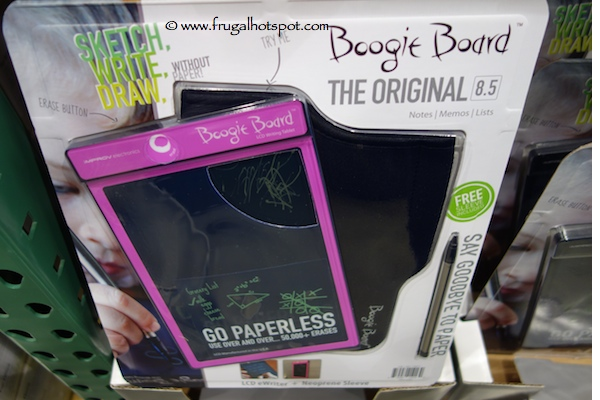 boogie board writing tablet costco Now with 50 percent brighter writing, boogie board ewriter eliminates the need for paper, scratch pads and sticky notes-simply write and erase.