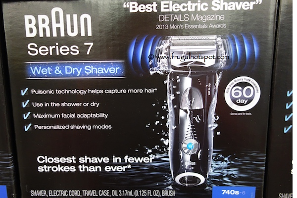 Braun Series 7 Wet & Dry Electric Shaver