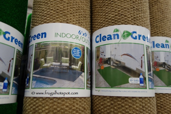 Costco Sale: Foss Manufacturing Clean Green 6\' x 9\' Indoor/Outdoor ...
