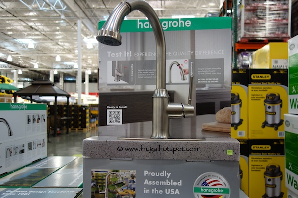Costco Sale Hansgrohe Talis C Pull Down Kitchen Faucet