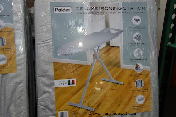 Costco Sale: Polder Deluxe Ironing Station $59.99