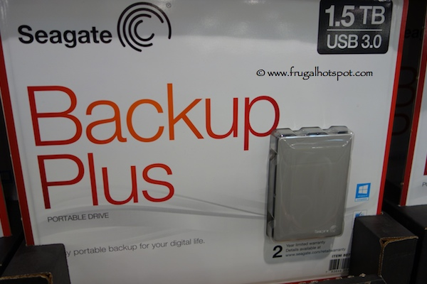 Seagate Slim Backup Plus 1.5TB Portable Hard Drive