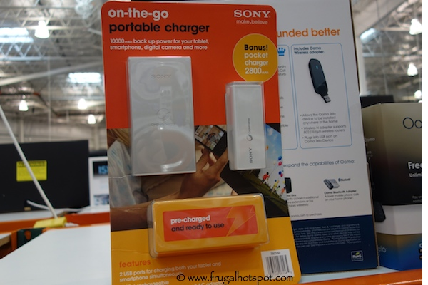 costco sale sony on the go portable charger frugal hotspot. Black Bedroom Furniture Sets. Home Design Ideas