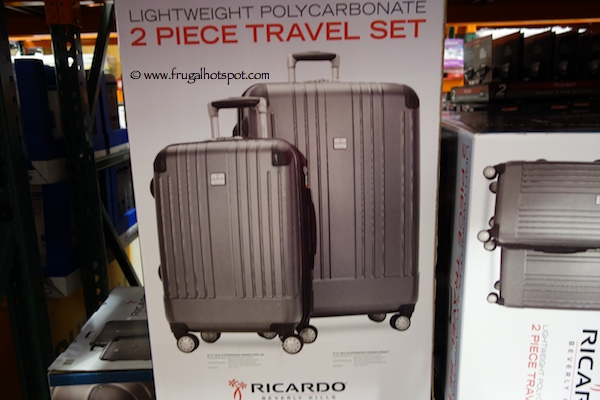 Ricardo Beverly Hills Lightweight Polycarbonate 2 Piece Travel Luggage Set Costco