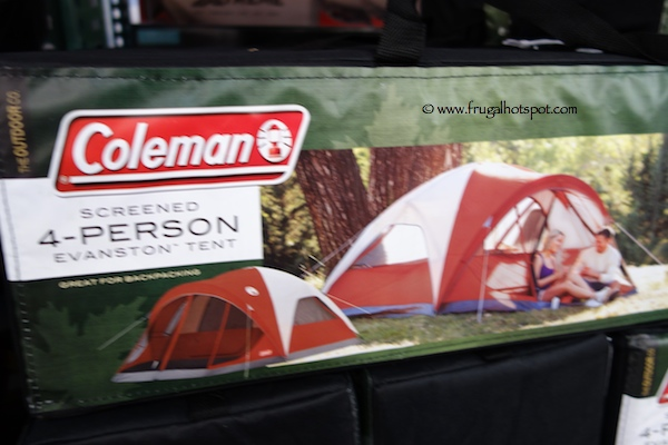 Costco Sale: Coleman Screened 4-Person Evanston Tent $49.99