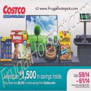 Costco Coupon Book: May 8, 2014 – June 1, 2014. Prices Listed.