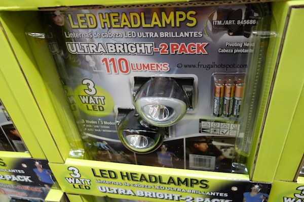 Superex Led Headlamps 2 Pack Costco
