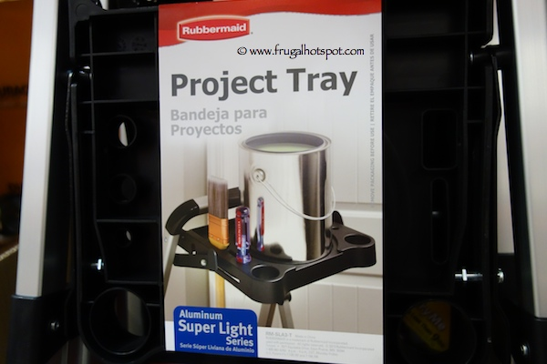 Rubbermaid 3 Step Aluminum Step Stool With Project Tray Costco