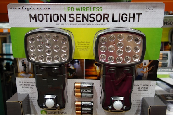 Costco Clearance Capstone Led Wireless Motion Sensor